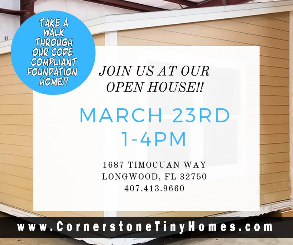 Tiny Homes Open House